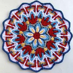 Overlay Crochet. Многослойное вязание крючком. Продолжение. Обсуждение на LiveInternet - Российский Сервис Онлайн-Дневников