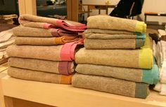 The Colors, Patterns & Textures of Imabari Towels