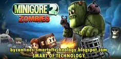 Minigore 2: Zombies v1.8 Apk Free Download | Smart of Technology - Minigore 2: Zombies is an award-winning action game starring Egoraptor! Dual-stick shooter masterpiece from the creators of Ice Rage, KingHunt and Bike Baron. Read too : Endomondo Sports Tracker PRO v9.4.0 Apk.  You must help John Gore in Minigore 2: Zombies to fight his way through sunny lakes, graveyards and freezing plains into a stormy forest.