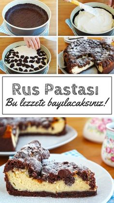 Russian Cake Making (Russischer Zupfkuchen) - Yummy Recipes - Cheesecake Recipes Russian Pastries, Russian Cakes, Yummy Recipes, Yummy Food, Easy Desserts, Dessert Recipes, Pastry Recipes, Sour Cream Sauce, Seafood Dishes