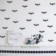 Cool Little Bat Wall Sticker, Removable home decoration art Wall Decals Free Shipping-in Wall Stickers from Home & Garden on Aliexpress.com | Alibaba Group