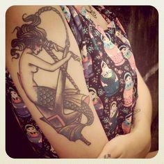 mermaid + anchor