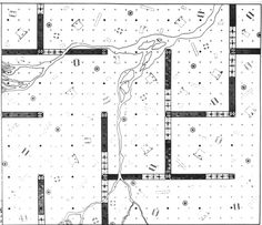 Archizoom: No-stop City (1969) - Plan