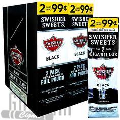 Swisher Sweets Cigarillos Black