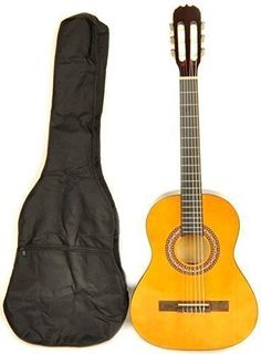 Omega Class Kit 3/4 Size Left Handed Classical Acoustic Guitar Package >>> Check out this great product.