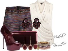"""""""outfit"""" by michelerussell ❤ liked on Polyvore"""