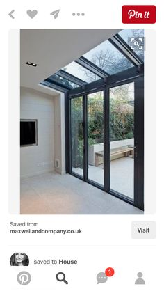 Modern Conservatory Design Ideas, Pictures, Remodel and Decor House Extension Design, Glass Extension, Extension Ideas, Side Extension, Porch Extension, Extension Google, Modern Conservatory, Conservatory Interiors, Conservatory Extension