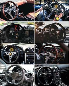 Your favorite? #TopMiata #WheelWednesday @nateee_ x @mx5militia x (: @ns2_media) x @max27nufer x @adzam_ataim x @jpaguillard x @bossroadster x (: @its_black) x @isao6774 x @streetprincessnb (: @mjsvitek) Miata Mods, Miata Car, Mazda Miata, Carros Lamborghini, Civic Ef, Mazda Roadster, Inside Car, Jdm Cars, Luxury Cars