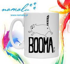 http://namalu.pl/milozwierz/299-kubki-milozwierz.html  Kubek kubki kubeczki 330ml 450ml mug miłozwierz nadruk na zamówienie zabawny śmieszny na prezent upominek gift grafiki kot cat funny