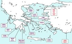 As this academic map clearly shows the Troy based characters of Homer's Illiad and the Odyssey weren't far from the #Avsa (which is in the body of water shown slightly to the right of Troy in the map).