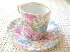 SALE Vintage Royal Crown Demitasse Cup and by Vintagegirlsfinds, $30.00  ***Labor Day Sale*** Take 10% off your entire purchase 8/31-9/7.