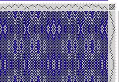 Hand Weaving Draft: cw103408, Crackle Design Project, 8S, 8T - Handweaving.net Hand Weaving and Draft Archive