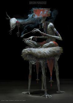 Zeen Chin© - Morpheses The Portal Psychic