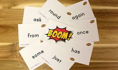 Sight Words Boom! | Sight Words: Teach Your Child to Read