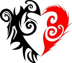 A great spin on the classic tribal heart Anime Tattoos, Skull Tattoos, Body Art Tattoos, Tribal Tattoos, Cross Coloring Page, Heart Coloring Pages, Bleeding Heart Tattoo, Broken Heart Pictures, Beautiful Flower Drawings
