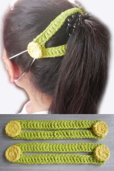 I made this video tutorial for those who can't buy or find buttons. This type of ear saver can help us to tie up our hair whether a ponytail or bun. Crochet Mask, Crochet Bows, Crochet Faces, Crochet Buttons, Crochet Stitches, Free Crochet, Knit Crochet, Sewing Patterns Free, Knitting Patterns