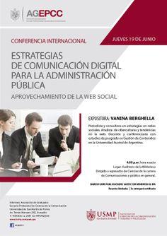 Inscríbete en la Asociación de Egresados y Graduados de Ciencias de la Comunicación y podrás asistir gratuitamente a esta conferencia de Comunicación digital.