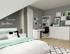 Teen Girl Bedrooms post reference 6903469534 - A powerful to enjoyable pool of teen girl room tactic and tips. Shared Bedrooms, Teen Girl Bedrooms, Design Room, My Room, Girl Room, Bedroom Furniture, Bedroom Decor, Bedroom Ideas, Girls Bunk Beds