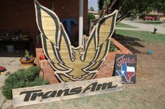Pallet wood Firebird and Trans Am sign