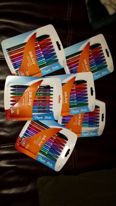 My InkJoy Mission form Smiley360 was FABULOUS! I received free InkJoy pens from Smiley360 in return for my feedback. These pens are AWESOME!