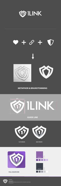 1Link is the Internet Security solution on PC/Mobile #mobile #application #logo…