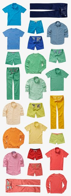 Goodbye cold, hello bold. It's time for spring colors. | Bonobos