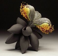 Cj Jilek Sculpture Art, Sculptures, Contemporary Ceramics, Succulents, Brooch, Plants, Jewelry, Box, Jewlery