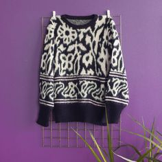 Sweater Pattern Talla M Vintage Outfits, Photo And Video, Sweaters, Clothes, Instagram, Vintage Clothing, Outfits, Clothing, Kleding