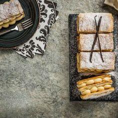 Μιλφέιγ / Mille-feuille. Συνταγή για εύκολο και ανάλαφρο μιλφέιγ! #millsofcrete #millefeuille #greekrecipes #greeksweets #συνταγες #γλυκα #μιλφειγ #κρητη Vegan Recipes, Food, Meal, Hoods, Vegan Dinner Recipes, Eten, Meals, Vegetarian Recipes