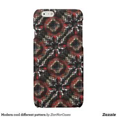 Modern cool different pattern glossy iPhone 6 case Cool Iphone Cases, Cool Cases, Iphone Case Covers, Iphone Models, Different Patterns, Cool Stuff, Modern, Cool Things, Trendy Tree
