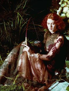 Art of Fantasy: Karen Elson in Valentino by Jeff Bark for Porte Magazine #2, Summer 2014