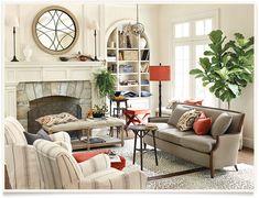 Laraine Living Room  I  ballarddesigns.com