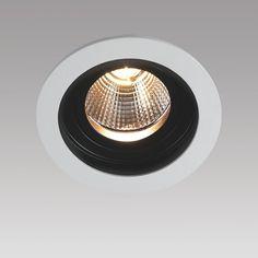 NEW AGE E148 RUND, inkl. LED 3000lm 830 24° 39W, inkl. LED-Konverter DALI dimmbar - Innenleuchten