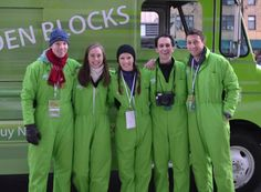 Meet Tegu Team USA. The Tegu team turned into a pit crew for a Tegu block party.