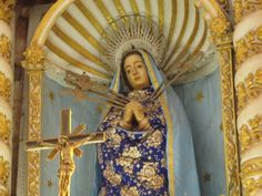 Our Lady of Seven Sorrows in a Catholic church in Goa, India.