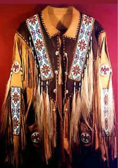 Native American Clothing, Native American Regalia, Native American Beauty, American Indians, Armadura Ninja, Red Indian, Western Wear For Women, Leather Jacket, Leather Coats