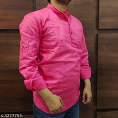 Checkout this latest Kurtas Product Name: *Trendy Men's Cotton Kurtas* Sizes:  M, L, XL, XXL Country of Origin: India Easy Returns Available In Case Of Any Issue   Catalog Rating: ★4 (1700)  Catalog Name: Classy Trendy Men's Cotton Kurtas Vol 14 CatalogID_452896 C66-SC1200 Code: 505-3277753-4821