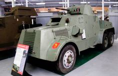 Impressive Vintage Armoured Cars for the guys