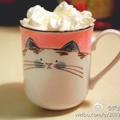 Sharpie cup, cat