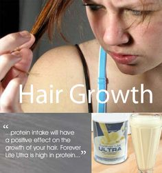 Hair is made of protein, so increasing your protein intake will have a positive effect on the growth of your hair. Forever Lite Ultra is high in protein and low in carbohydrates, if you are following a weight loss programme. Or why not change your breakfast to poached eggs on toast, boosting your protein intake. #hair #protein #forever_lite_ultra