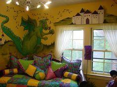 dragon kids-rooms