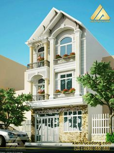 Luxury House Plans, Dream House Plans, Mews House, Narrow House, Castle House, Classical Architecture, Home Design Plans, Classic House, Next At Home