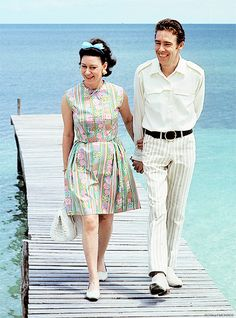 I just want to be wonderful. Princess Margaret