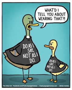 Fowl Language Comics :: Do As I Say | Tapastic Comics - image 1