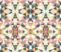 Deco Tribal fabric by beththompson on Spoonflower - custom fabric