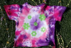Check out this item in my Etsy shop https://www.etsy.com/listing/268069507/2t-pink-and-purple-tie-dye-wapple-green