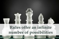 Rules create Freedom:The job description is the set of rules that not only sets up the candidate for success but actually makes success possible.