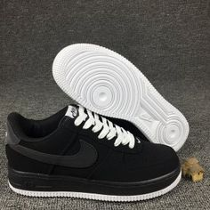 912a6a04f2c136 Mens Sneakers Nike Air Force 1 Low Black White 820266 017 Air Force 1