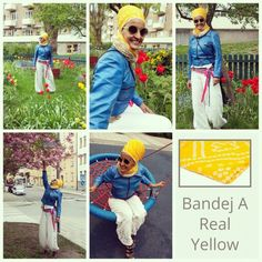 """Turban nr 2 from the www.gosikh.com collections - Bandej yellow. Love the softness in the material. #yellowturban #turbanista  Good news!!! To save 10% on your entire order, please use coupon code """"TURBANCHIQ"""", we will also donate another 10% to WFP, world food program."""
