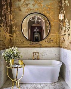 If you have a small bathroom in your home, don't be confuse to change to make it look larger. Not only small bathroom, but also the largest bathrooms have their problems and design flaws. Bathroom Spa, Bathroom Interior, Modern Bathroom, Small Bathroom, Master Bathroom, Bathroom Ideas, Bathroom Renovations, Bathroom Marble, Classic Bathroom